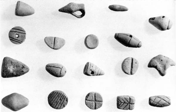Clay tokens http://saturniancosmology.org/bin/tokens.jpg
