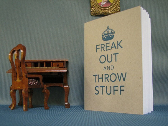 freak out notebook
