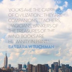 "The problem with saying that ""books are the carriers of civilization"""
