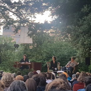 Roxane Gay Live at the Open Air Literatur Festival in Zurich 2019