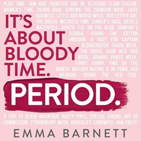 "Shark Week: Let's talk about bleeding with Emma Barnett's new book, ""Period"""