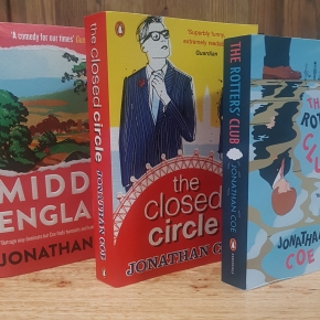 "Brexit Literature: a complete review of Jonathan Coe's ""The Rotters' Club"" trilogy including ""Middle England"""